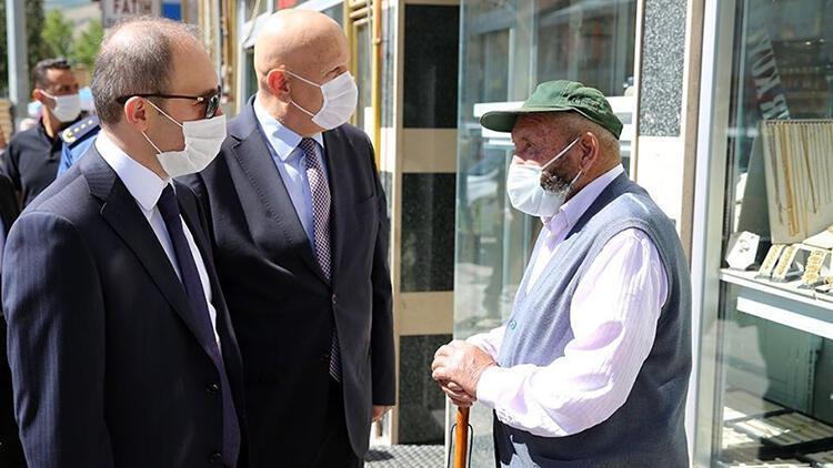 Bayburt'ta 65 yaş ve üstü ile kronik rahatsızlığı bulunanlara kısıtlama getirildi