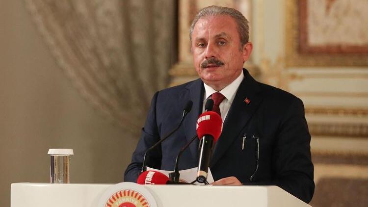 TBMM Başkanı Şentop'tan Karadeniz'deki doğal gaz rezervi keşfi için  kutlama mesajı