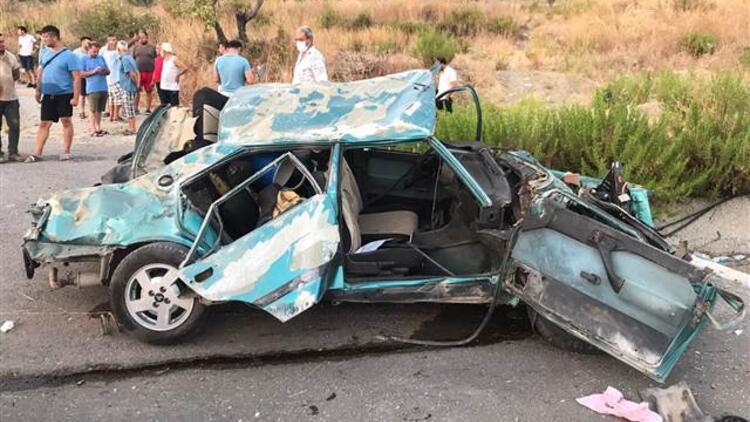 Muğla'da korkunç kaza! 2 ölü, 1 yaralı