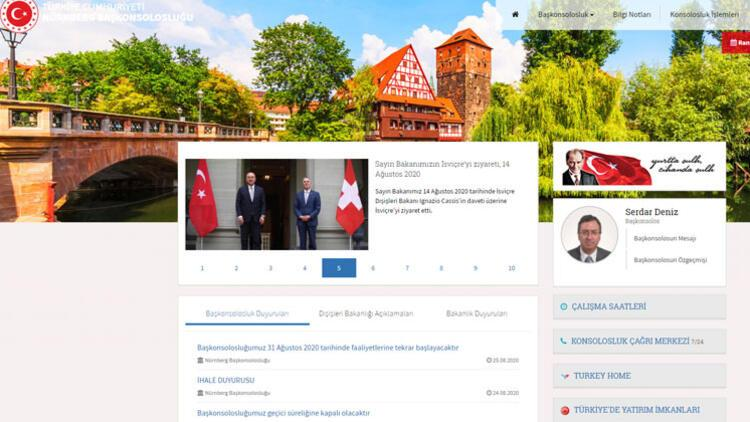 Nürnberg Başkonsolosluğu 31 Ağustos'ta açılıyor