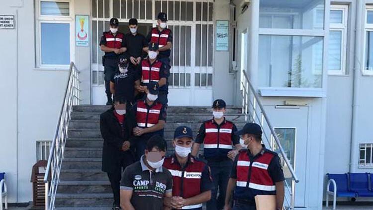 Kayseride HTŞ operasyonu: 6 gözaltı
