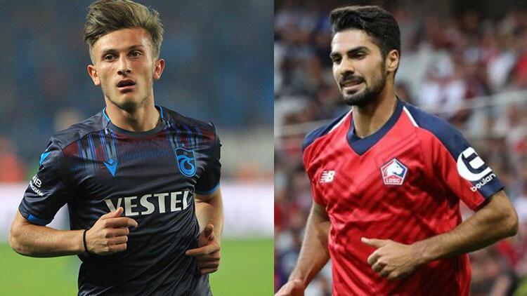 Transfer haberleri | Lille'de Zeki Çelik'in halefi Trabzonspor'dan Serkan Asan!