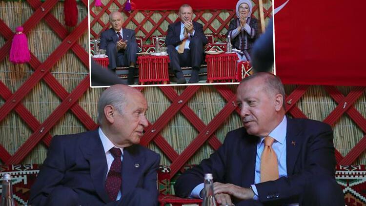 Son dakika haberler... Cumhurbaşkanı Erdoğan Ahlatta... Malazgirt Zaferi paylaşımı