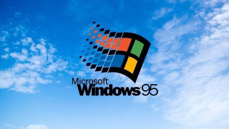 Windows 95 işletim sistemi 25 yılı geride bıraktı