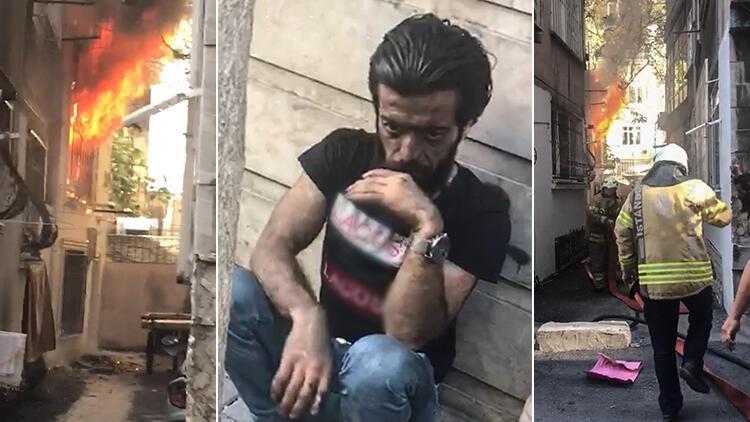 Fatih'te canını son anda kurtardı