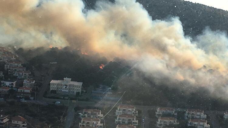 Bu yıl 1944 orman yangınında, 6 bin 492 hektar alan zarar gördü