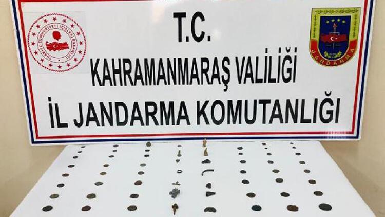 Kahramanmaraş'ta 'tarihi eser' operasyonu: 1 gözaltı