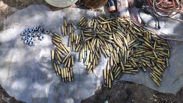 Bingöl'de, PKK'lı teröristlere ait EYP bulundu...