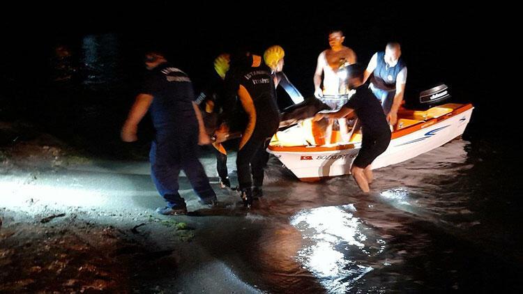 60 metre yüksekten denize düşen yaşlı adam hayatını kaybetti