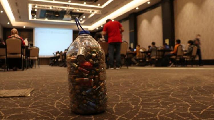 Kastamonu'da öğrenciler atık pilleri topladı, bilim kampına katıldı
