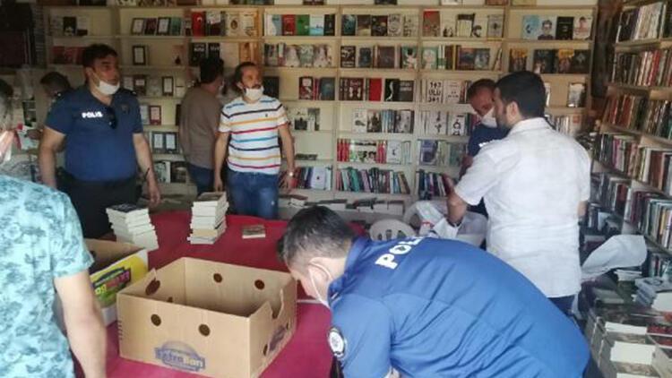 Silivri'de korsan kitap operasyonu