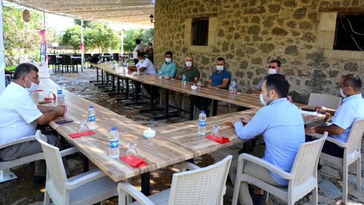 Datça'da koronavirüs tedbirleri denetim ekipleri kuruldu