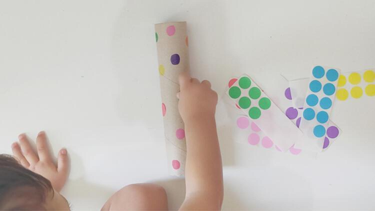 Renk kavramını geliştiren oyun: Renkli daireler