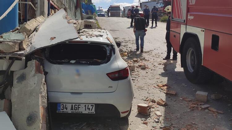 Son dakika haberler: Sultangazide  fabrikada patlama