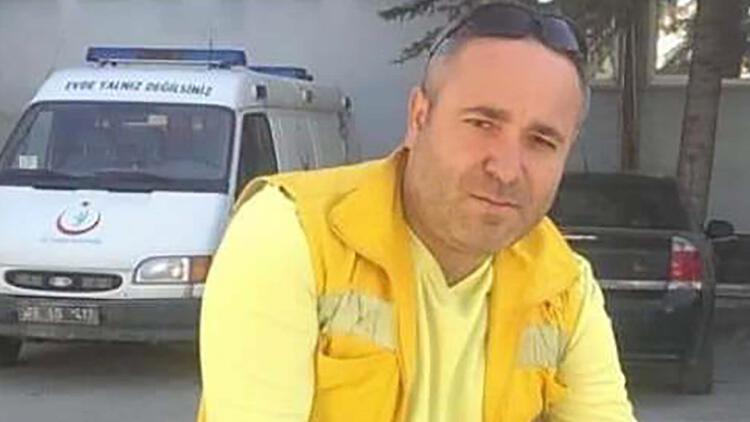 Koronavirüs tedavisi gören ambulans şoförü Hasan Aslan, hayatını kaybetti