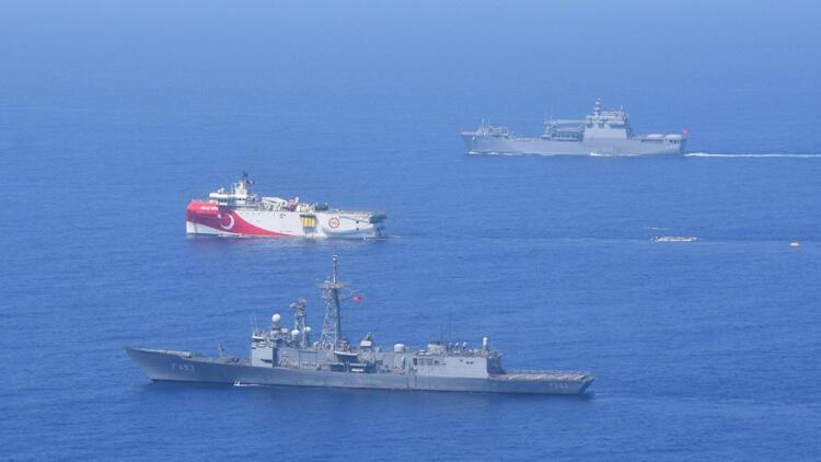 MSB: Doğu Akdenizde deniz eğitimleri icra edildi