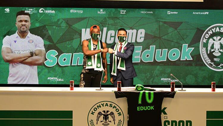 Konyaspor Samuel Eduok transferini açıkladı