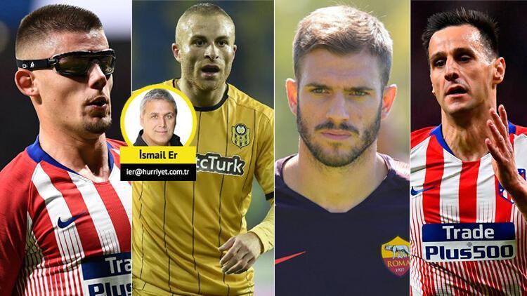 Son dakika   Beşiktaşın transferde 4 bombası: Kalinic, Montero, Santon ve Gökhan Töre