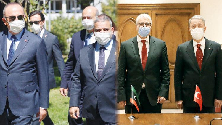Ankara'da sürpriz Libya trafiği