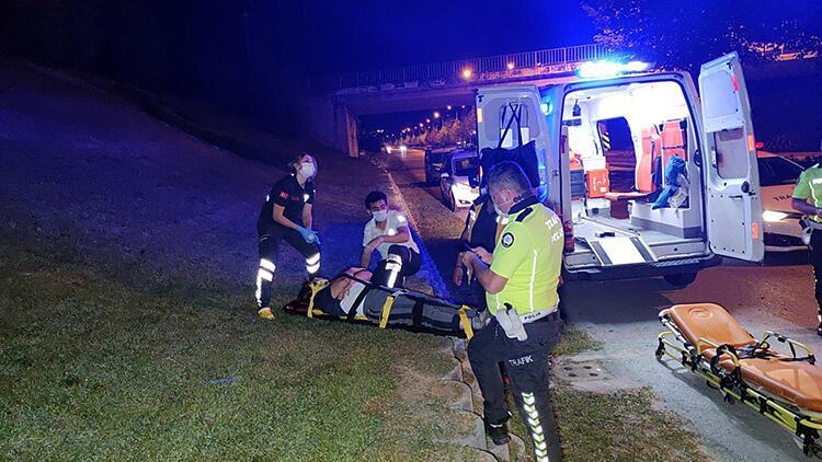 Düzce'de 2 kazada 3 kişi yaralandı