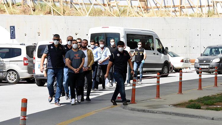 Eskişehir'de 4 saldırının failleri yakalandı; 13 şüpheliden 9'u tutuklandı