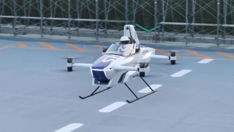 Japonya'da uçan otomobil hayaline bir adım daha yaklaşıldı