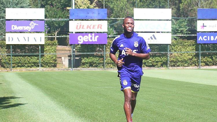 Fenerbahçe'de Enner Valencia ilk çalışmasını yaptı