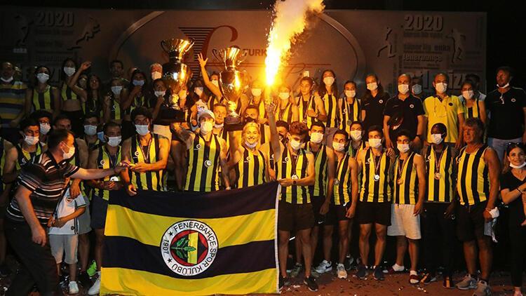 Atletizm Süper Ligi'nin şampiyonu Fenerbahçe oldu