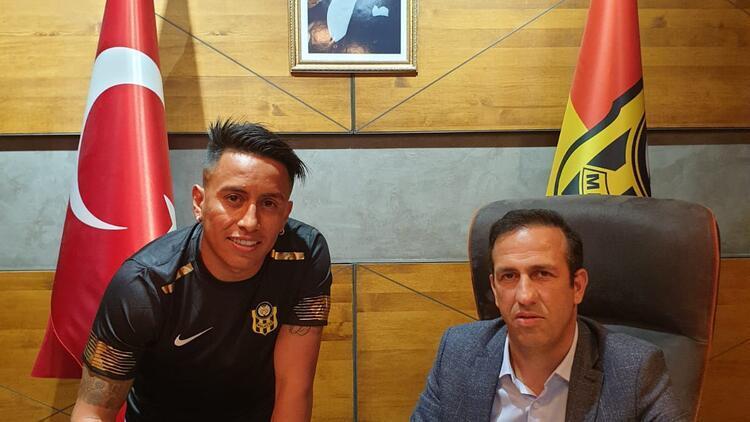 Yeni Malatyaspor Perulu Cueva ile sözleşme imzaladı