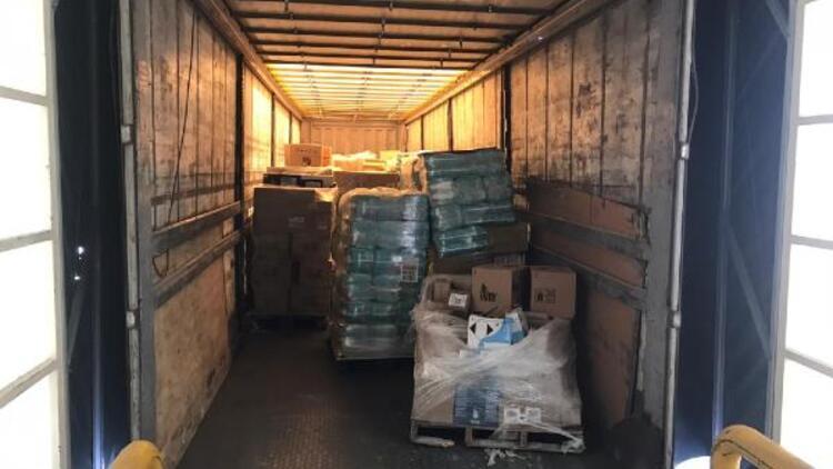 2 milyon liralık ürünü teslim etmeyen nakliyeciler yakalandı
