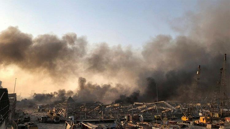 Beyrut Limanı'ndaki patlama sonucu hayatını kaybedenlerin sayısı 190'a yükseldi