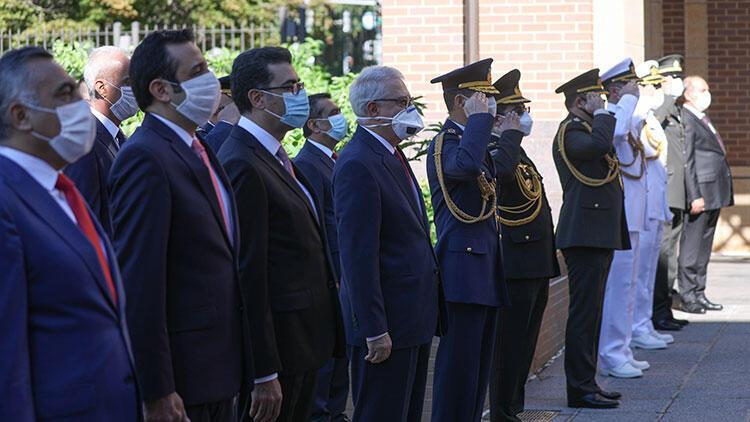 Türkiyenin Washington Büyükelçiliğinde 30 Ağustos Zafer Bayramı töreni düzenlendi