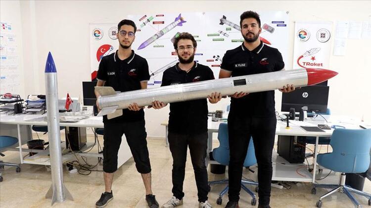 Geliştirdikleri roketlerle TEKNOFEST'te yarışacaklar