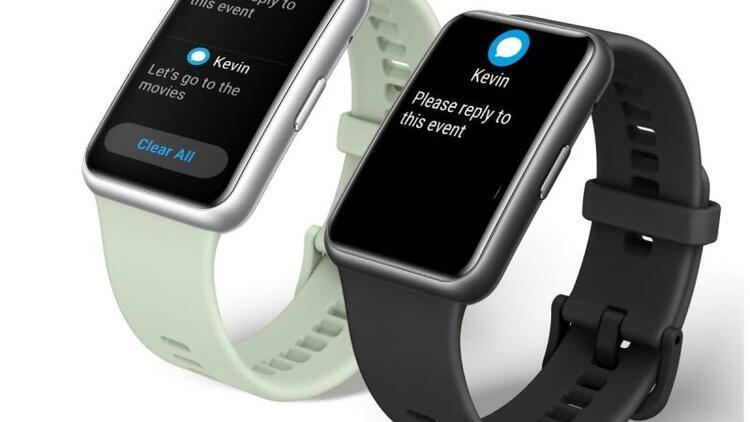 Huawei Watch Fit tanıtıldı: İşte öne çıkan özellikleri