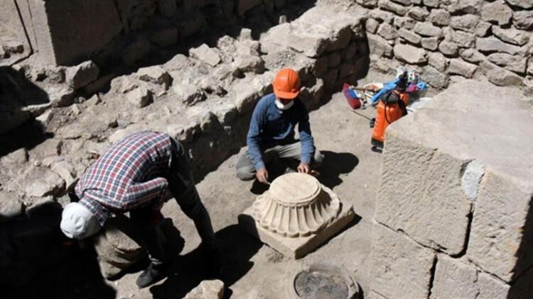Gümüşhane'deki Satala Antik Kenti'nde 2 bin yıllık izlere rastlandı