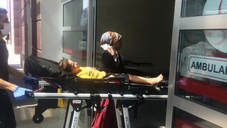 Balkondan düşen 7 yaşındaki Yusuf yaralandı