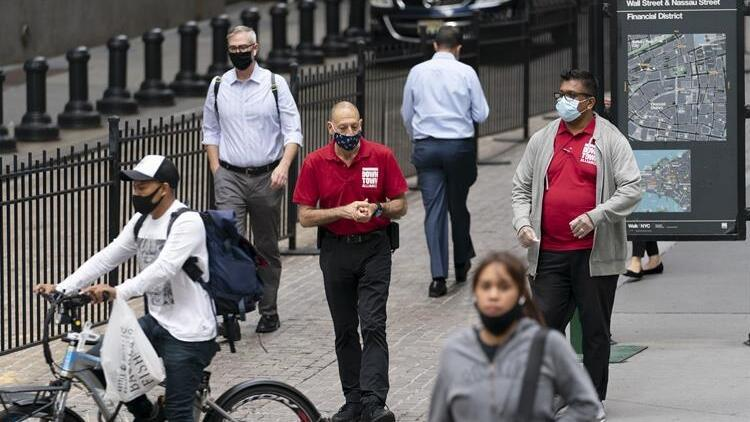 ABD'de koronavirüs ölümlerinde düşüş görüldü