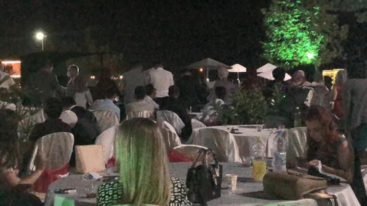 Golf kulübündeki halaylı düğüne 6 bin lira ceza