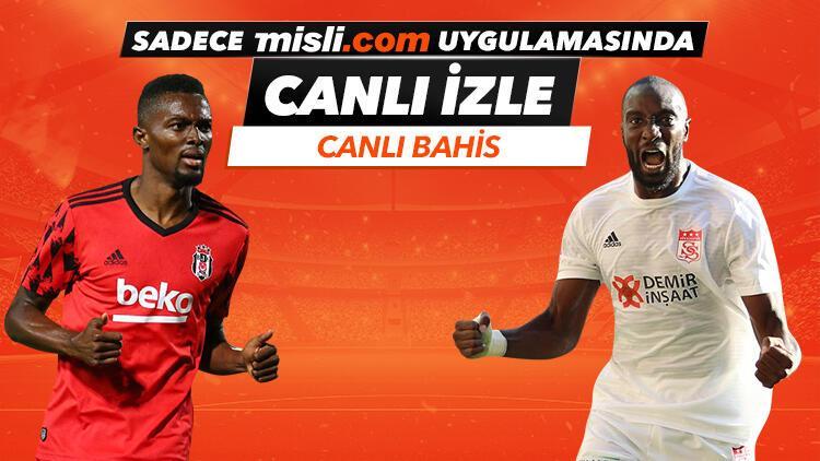 """Beşiktaş'ın Sivasspor hazırlık maçı """"sadece"""" Misli.com uygulamasında CANLI YAYINDA!"""