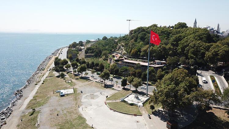 Sarayburnu'ndaki Türkiye'nin ilk Atatürk Anıtı restore edildi