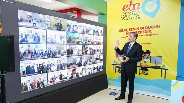 Uzaktan eğitim için 81 ilde EBA destek noktaları kuruldu
