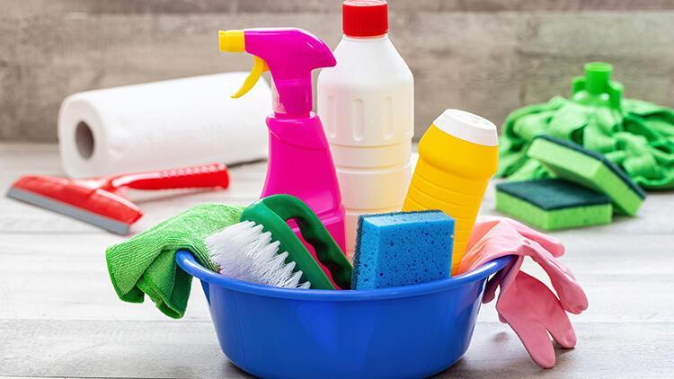 Ev temizliğinde işiniz kolaylaşacak! İşte öneriler...