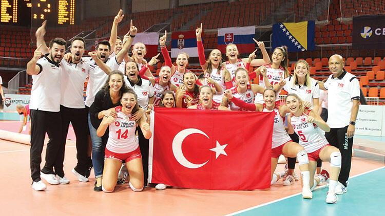 Onlar Avrupa Şampiyonu... 'Çok iyi işler başaracağız,bizi izlemeye devam edin!'