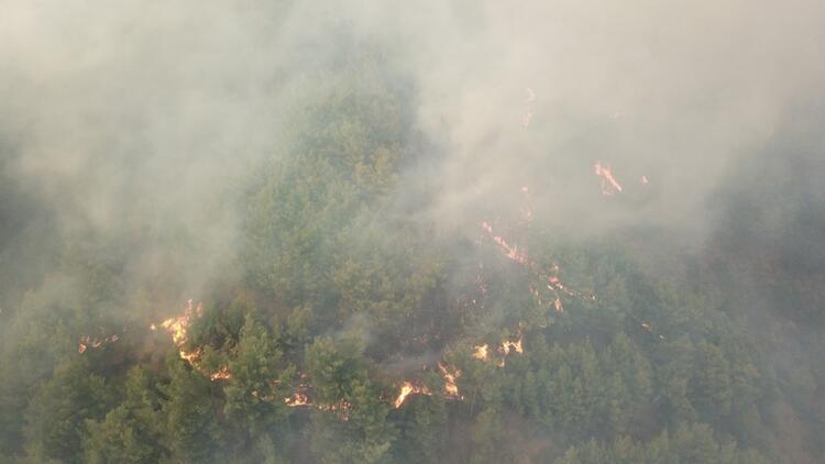 Hatay'da orman yangını! Bir köy daha boşaltıldı