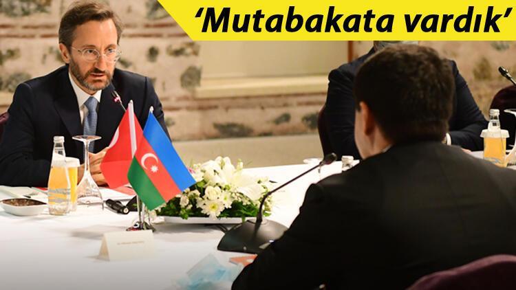 Azerbaycan ile önemli hazırlık! İletişim Başkanı Altun duyurdu...