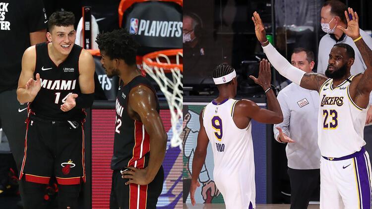 NBAde Gecenin Sonuçları   Miami Heat konferans finalinde LA Lakers bir adım öne geçti...