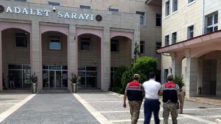 Siirt'te silahlı terör örgütü üyeliğinden aranan şüpheli yakalandı