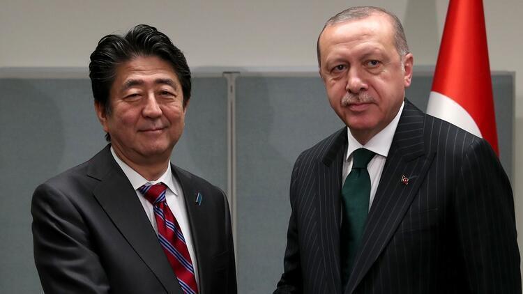 Son dakika haberler... Cumhurbaşkanı Erdoğan'dan Abe'ye geçmiş olsun telefonu