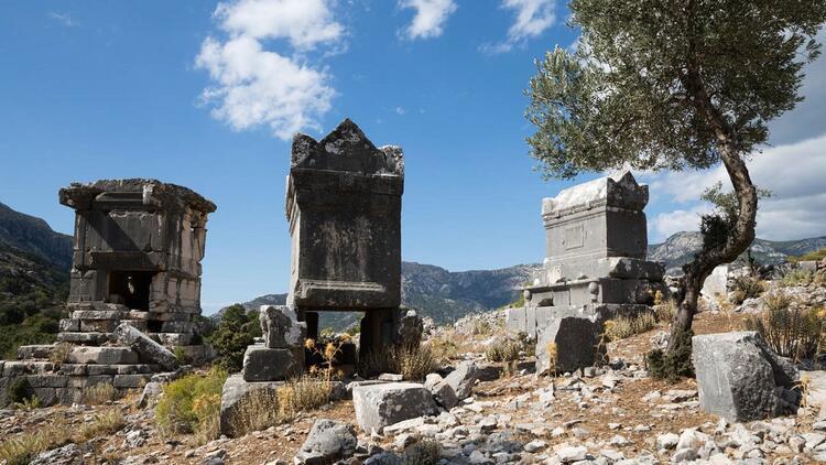 Likya Yolu'nda keşfedilmeyi bekleyen güzel: Sidyma Antik Kenti