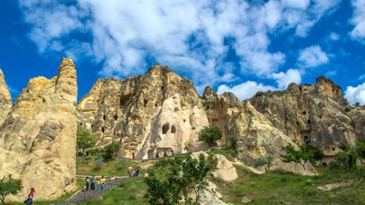 """Kapadokya'yı """"yeni normal""""de 255 bin turist gezdi"""